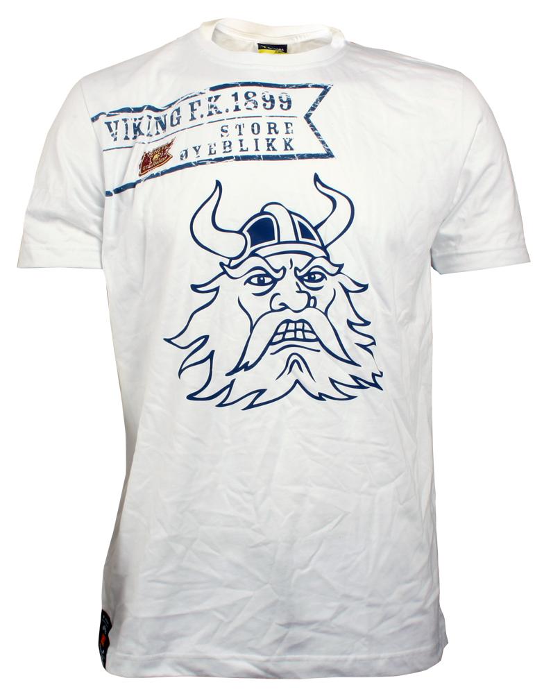 Hvit t-skjorte - Store øyeblikk- Viking SALG
