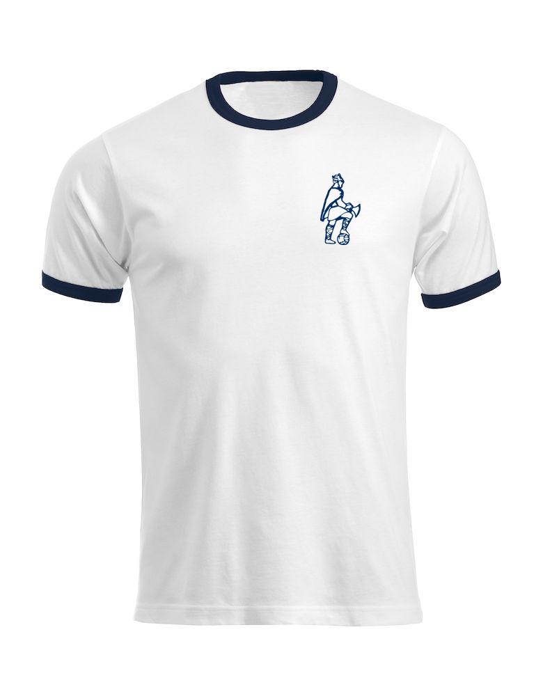 T-skjorte hvit - Gammel Viking - SALG
