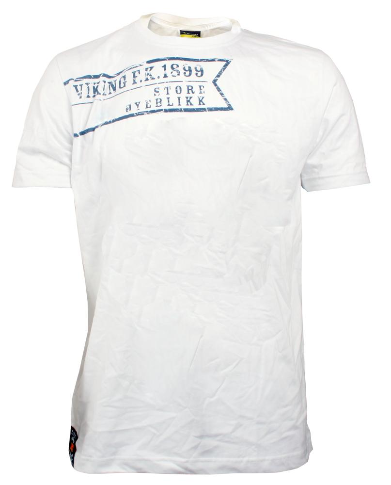 Hvit t-skjorte - Store øyeblikk- SALG